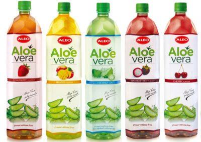 Aloe Vera gėrimai