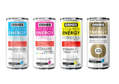 Isotonic and vitamin drinks